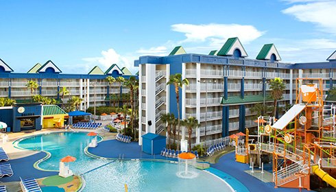 Showing Holiday Inn Resort Orlando Suites - Waterpark feature image