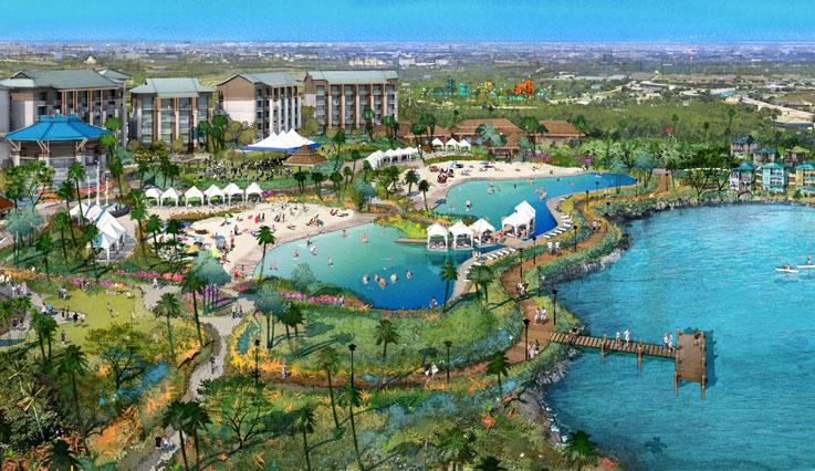 Resort rendering overview