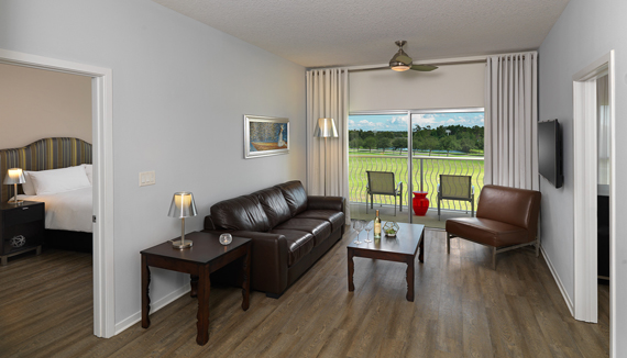 Showing slide 1 of 3 in image gallery showcasing Two Bedroom Suite