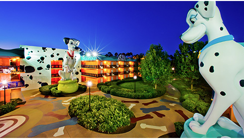 Image représentative de l'hôtel Disney's All Star Movies Resort