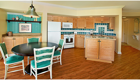 Showing slide 1 of 3 in image gallery, 1 Bedroom Villa - Kitchen