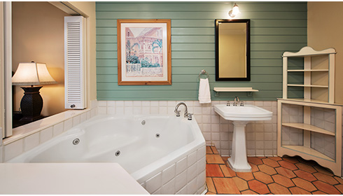 Showing slide 1 of 4 in image gallery, 2 Bedroom Villa - Bathroom
