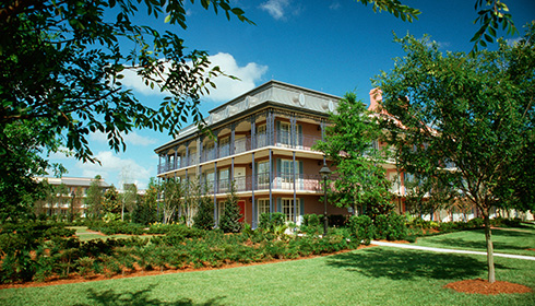 Showing Disney's Port Orleans Resort French Quarter feature image