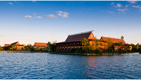 Showing Disney's Polynesian Village Resort feature image