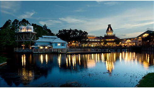 Showing Disney's Port Orleans Resort Riverside feature image