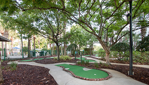 Outdoor Mini Golf