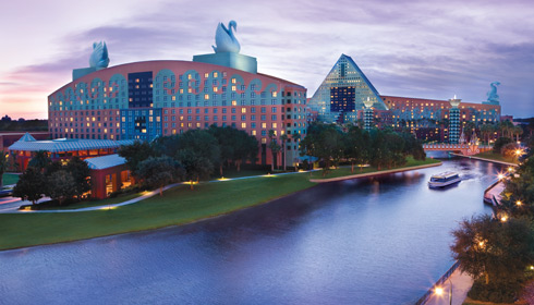 Showing Walt Disney World Swan Resort feature image