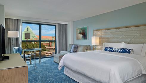 Walt Disney World Swan Resort Westjet