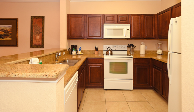 Showing slide 3 of 4 in image gallery, 2 bedroom, 2 bath - kitchen