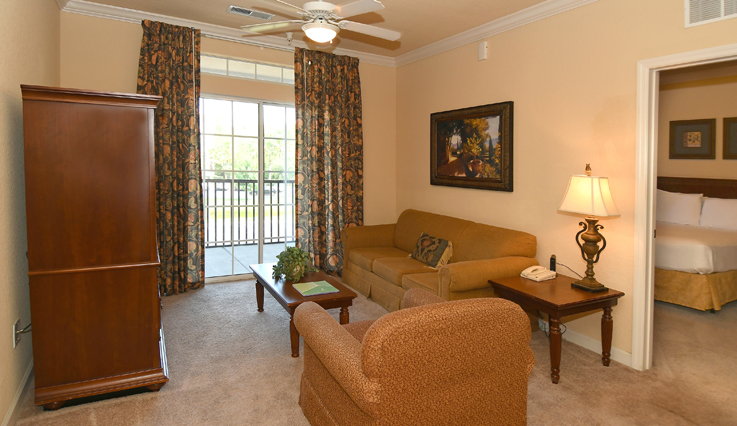 Showing slide 2 of 4 in image gallery, 2 bedroom, 2 bath - living room