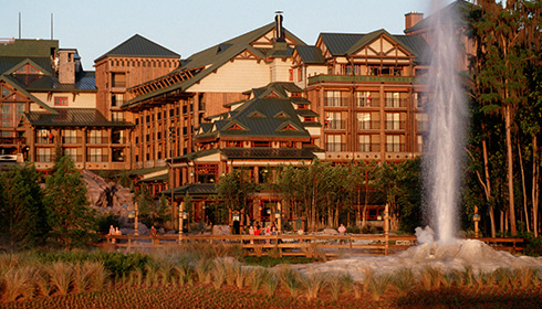 Image représentative de l'hôtel Disney's Wilderness Lodge Resort