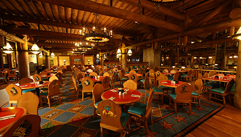 Whispering Canyon Café dining area