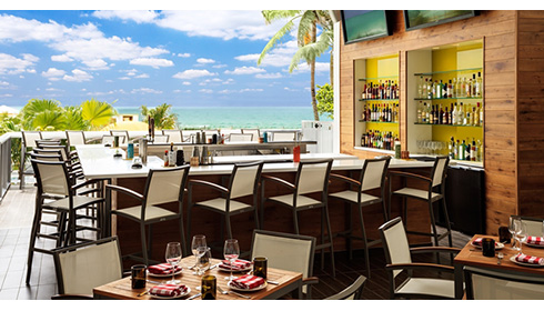 Showing slide 3 of 20 in image gallery for Hilton Cabana Miami Beach