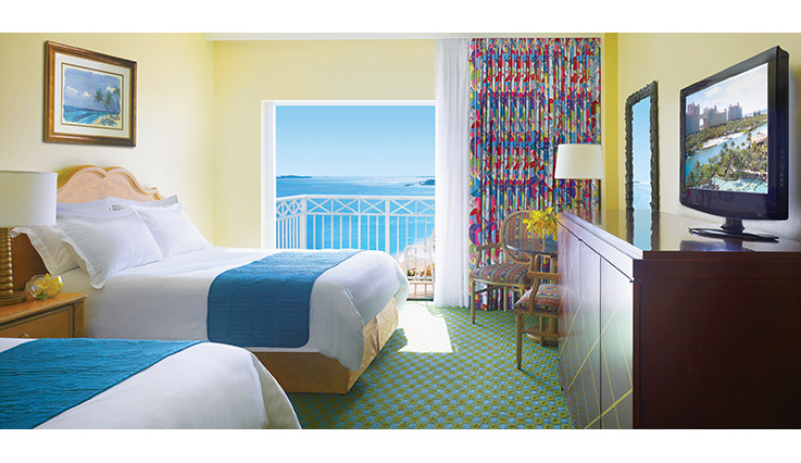 Guest Rooms At The C Towers Paradise Island Resort Atlantis