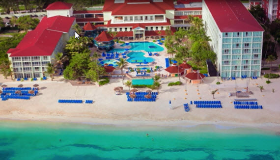 Showing slide 1 of 22 in image gallery for Breezes Resort, Bahamas