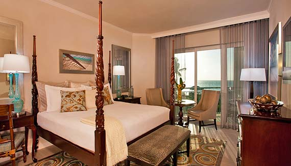 Image showcasing Balmoral Honeymoon Oceanview Club Level Room (HC)