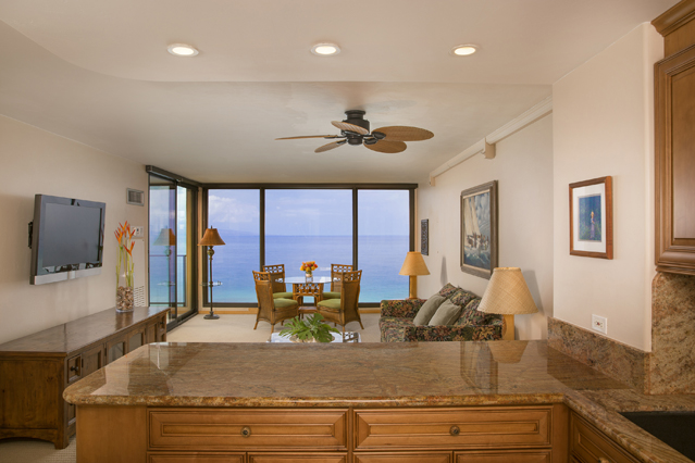 Showing slide 1 of 3 in image gallery showcasing 1 Bedroom 1 Bathroom Oceanfront