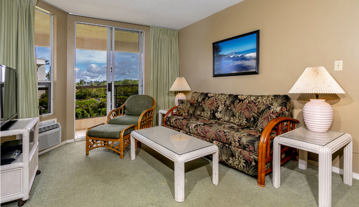 Showing slide 3 of 7 in image gallery showcasing 2 Bedroom Partial Ocean View