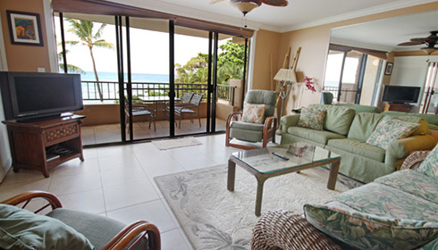 Showing slide 1 of 2 in image gallery showcasing 2 Bedroom Oceanfront