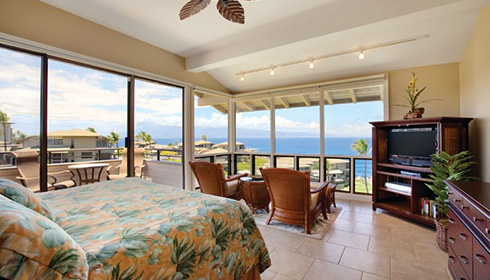 Showing slide 6 of 28 in image gallery for The Kapalua Villas Maui Condo