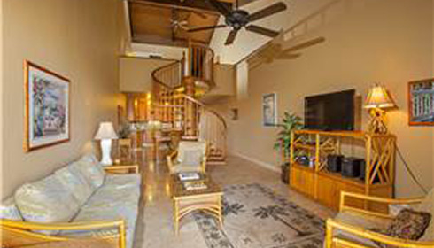 Image showcasing 2 Bedroom 2 Bathroom Ocean View Suite