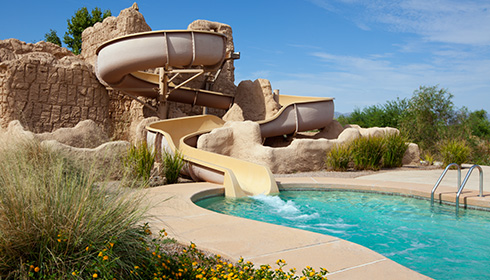 Resort Waterslide