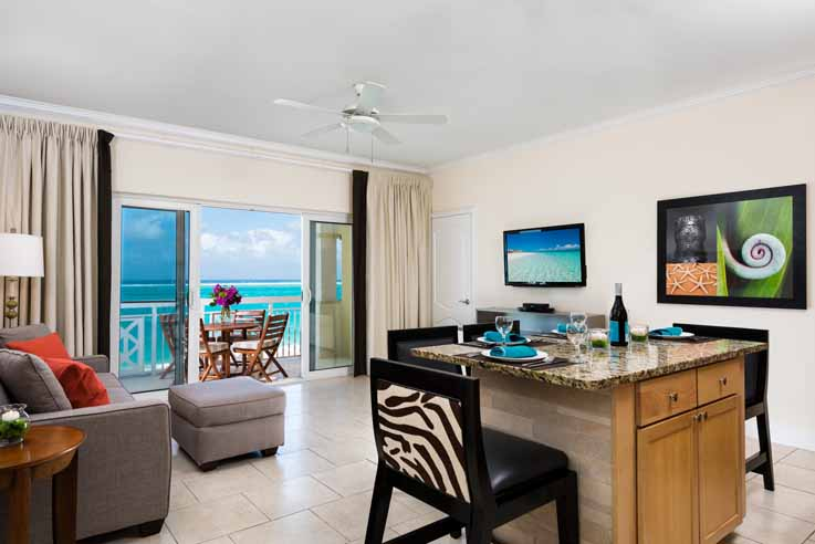 Showing slide 1 of 3 in image gallery, One Bedroom Ocean Front