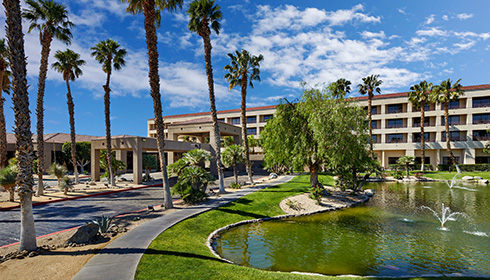Showing Doubletree Golf Resort Palm Springs feature image