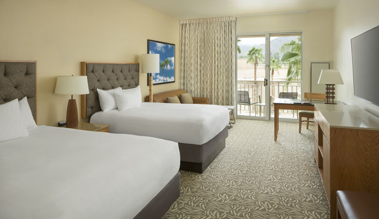 Showing slide 2 of 2 in image gallery, Standard room - 2 double beds