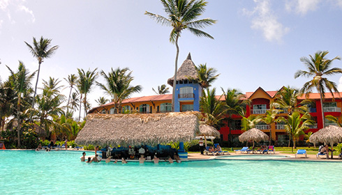 Showing Caribe Club Princess Beach Resort And Spa Feature Image Pool Bar