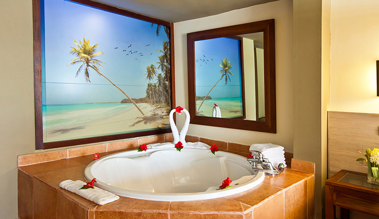 Showing slide 2 of 2 in image gallery showcasing Privileged Deluxe Honeymoon Junior Suite