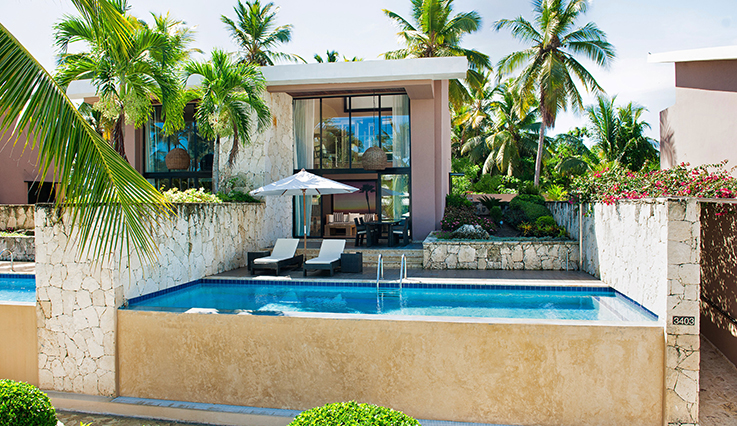 Showing slide 1 of 2 in image gallery showcasing Privileged Exclusive Suite with Plunge Pool