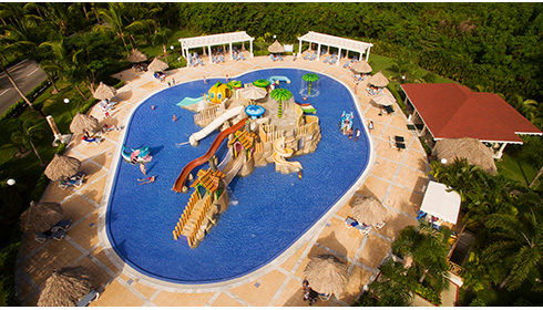 Kids waterpark