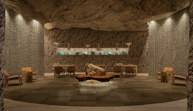 Spa Reception Artist Rendering