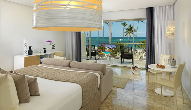 Image showcasing The Reserve Panoramic Ocean Front Junior Suite