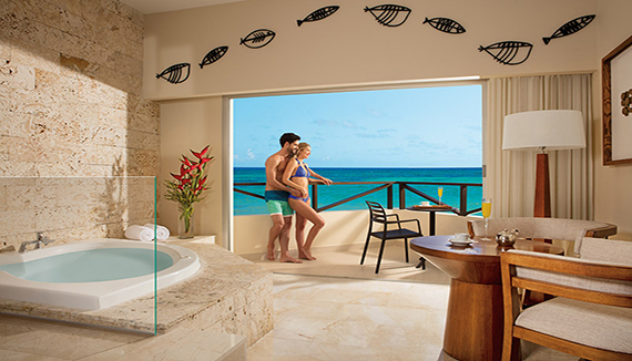 Image showcasing Sun Club Oceanfront Suite