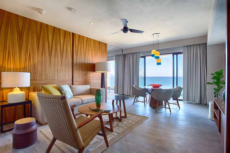 Image showcasing 1 Bedroom Armony Suite Ocean view