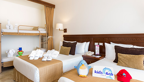 Chambre familiale Kids & Co
