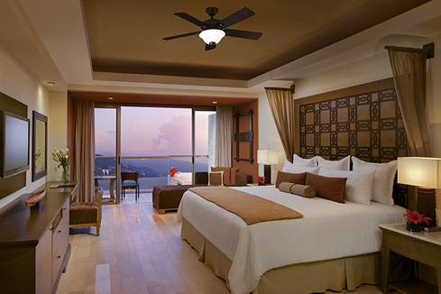 Showing slide 1 of 2 in image gallery showcasing Preferred Club Junior Suite Ocean