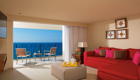 Showing slide 2 of 2 in image gallery showcasing Sun Club Junior Suite Bay View