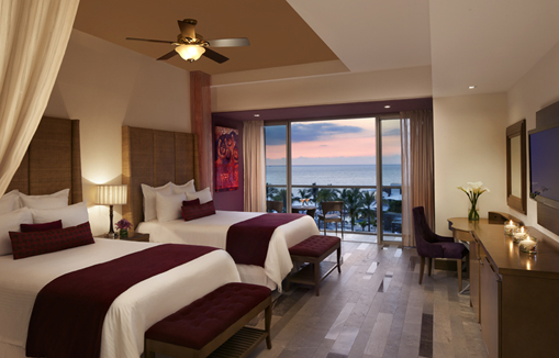 Showing slide 1 of 2 in image gallery showcasing Junior Suite Ocean View