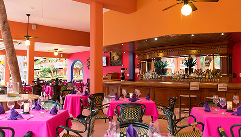 El Patron Restaurant Dining Room