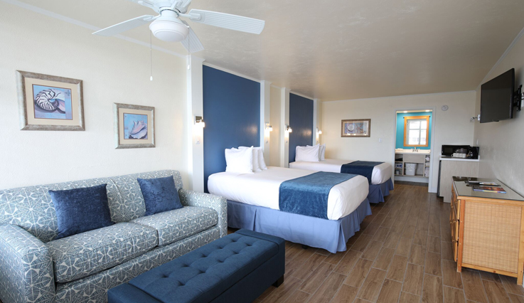 Showing slide 2 of 2 in image gallery showcasing Resort View East Guest Room