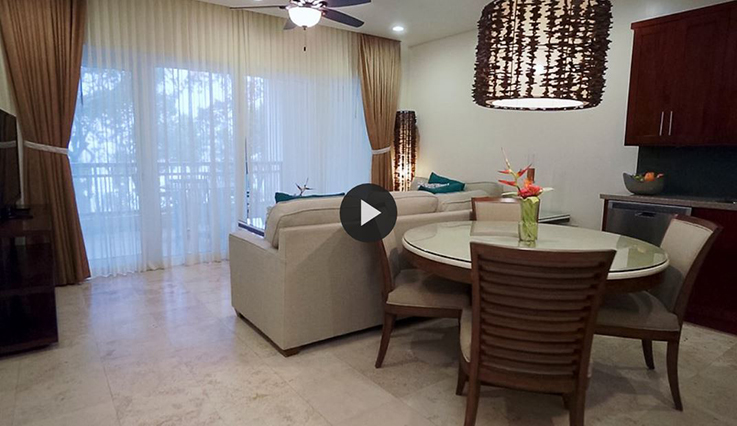 Two Bedroom Ocean View Condo