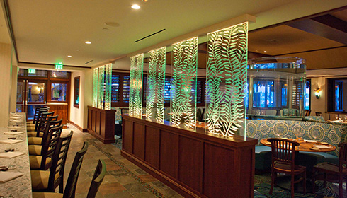 Showing slide 5 of 11 in image gallery, Oceana Dining Area