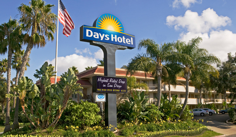 San Diego - Days Inn Hotel Circle