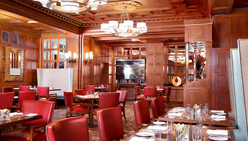 Image 1 de 6, de la gallerie de photos : Restaurant The Oak Room