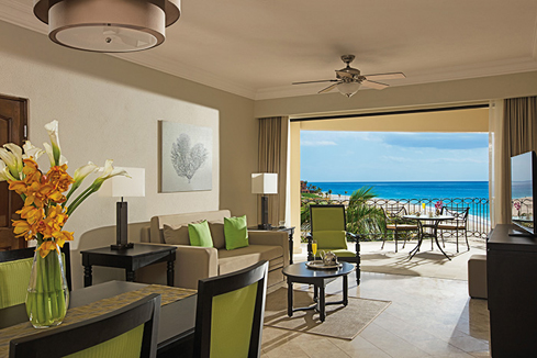 Showing slide 2 of 4 in image gallery showcasing Family Junior Suite Ocean View