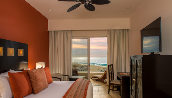 Showing slide 1 of 2 in image gallery showcasing Deluxe Oceanview Rooms