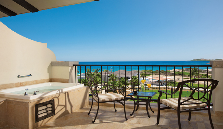 Showing slide 2 of 2 in image gallery showcasing Preferred Club Junior Suite Ocean View